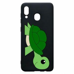Etui na Samsung A30 Baby turtle