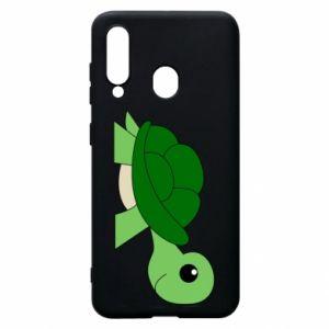 Etui na Samsung A60 Baby turtle