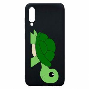 Etui na Samsung A70 Baby turtle