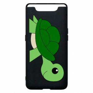 Etui na Samsung A80 Baby turtle