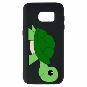 Etui na Samsung S7 Baby turtle