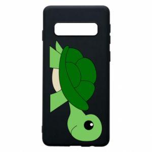 Etui na Samsung S10 Baby turtle