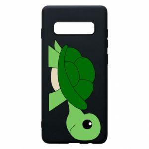 Etui na Samsung S10+ Baby turtle