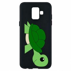 Etui na Samsung A6 2018 Baby turtle