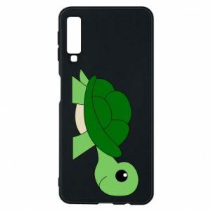 Etui na Samsung A7 2018 Baby turtle