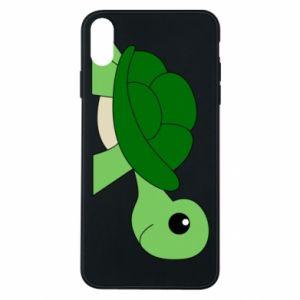 Etui na iPhone Xs Max Baby turtle