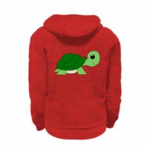 Bluza na zamek dziecięca Baby turtle