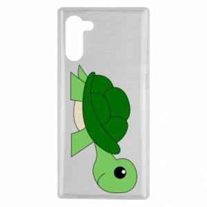 Etui na Samsung Note 10 Baby turtle