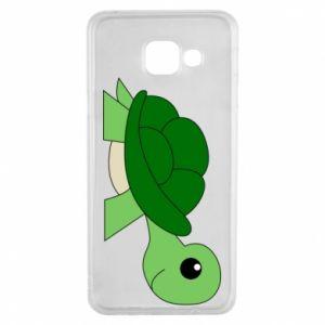 Etui na Samsung A3 2016 Baby turtle