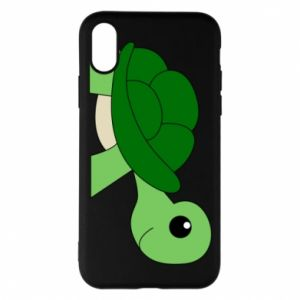Etui na iPhone X/Xs Baby turtle