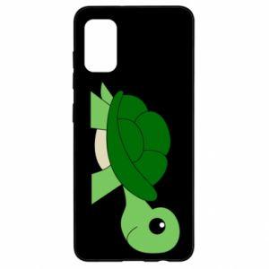 Etui na Samsung A41 Baby turtle