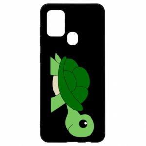 Etui na Samsung A21s Baby turtle
