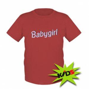 Kids T-shirt Babygirl