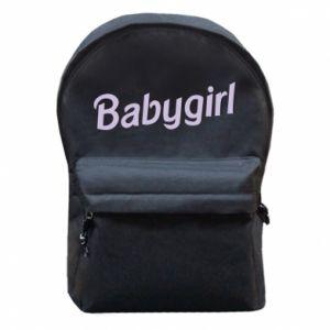 Plecak z przednią kieszenią Babygirl