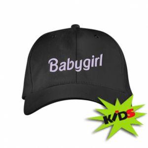 Czapeczka z daszkiem dziecięca Babygirl