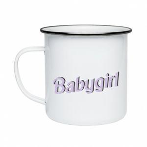 Kubek emaliowany Babygirl