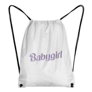 Plecak-worek Babygirl