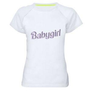 Koszulka sportowa damska Babygirl