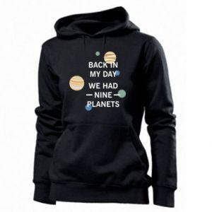 Damska bluza Back in my day we had nine planets
