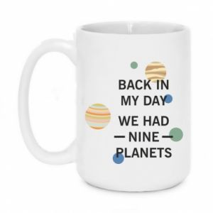 Kubek 450ml Back in my day we had nine planets