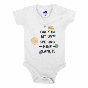 Body dla dzieci Back in my day we had nine planets