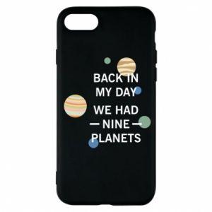 Etui na iPhone 7 Back in my day we had nine planets