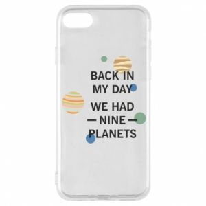 Etui na iPhone 8 Back in my day we had nine planets