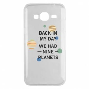 Etui na Samsung J3 2016 Back in my day we had nine planets