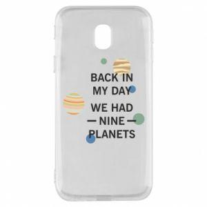 Etui na Samsung J3 2017 Back in my day we had nine planets