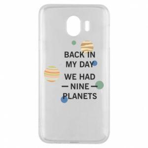 Etui na Samsung J4 Back in my day we had nine planets