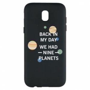 Etui na Samsung J5 2017 Back in my day we had nine planets