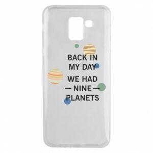 Etui na Samsung J6 Back in my day we had nine planets