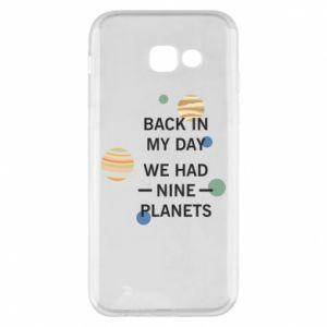 Etui na Samsung A5 2017 Back in my day we had nine planets