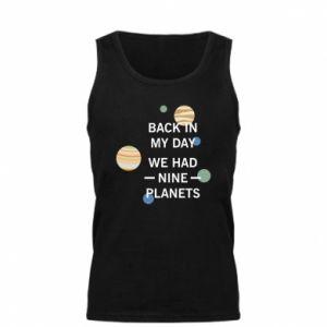 Męska koszulka Back in my day we had nine planets