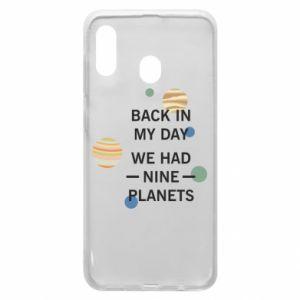 Etui na Samsung A30 Back in my day we had nine planets