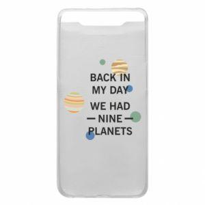 Etui na Samsung A80 Back in my day we had nine planets