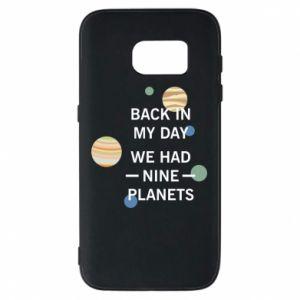 Etui na Samsung S7 Back in my day we had nine planets