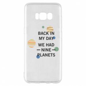 Etui na Samsung S8 Back in my day we had nine planets