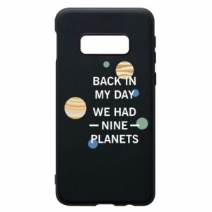 Etui na Samsung S10e Back in my day we had nine planets