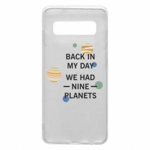 Etui na Samsung S10 Back in my day we had nine planets