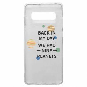 Etui na Samsung S10+ Back in my day we had nine planets