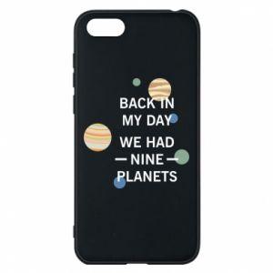 Etui na Huawei Y5 2018 Back in my day we had nine planets