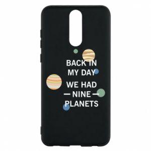 Etui na Huawei Mate 10 Lite Back in my day we had nine planets