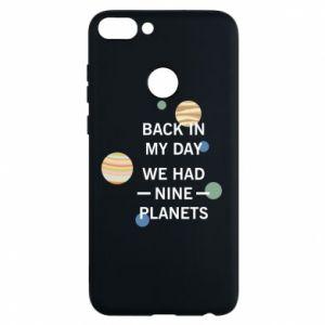 Etui na Huawei P Smart Back in my day we had nine planets