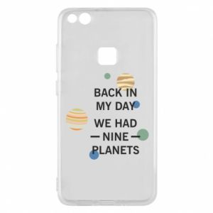 Etui na Huawei P10 Lite Back in my day we had nine planets