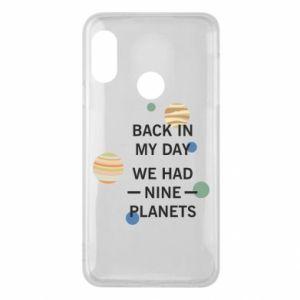 Etui na Mi A2 Lite Back in my day we had nine planets