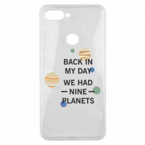 Etui na Xiaomi Mi8 Lite Back in my day we had nine planets