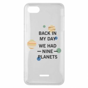 Etui na Xiaomi Redmi 6A Back in my day we had nine planets
