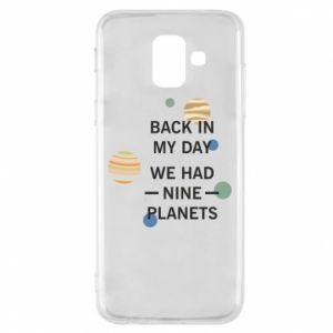 Etui na Samsung A6 2018 Back in my day we had nine planets