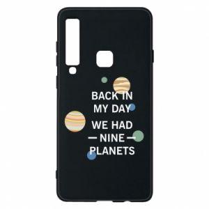 Etui na Samsung A9 2018 Back in my day we had nine planets